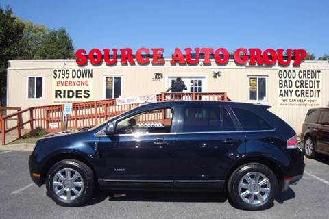 2008 Lincoln MKX for sale at Source Auto Group in Lanham MD