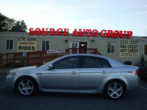 2006 Acura TL for sale at Source Auto Group in Lanham MD