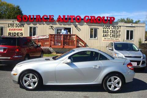 2007 Mercedes-Benz SLK-Class for sale at Source Auto Group in Lanham MD