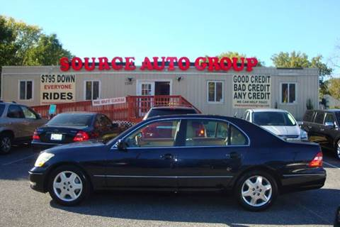 2005 Lexus LS 430 for sale at Source Auto Group in Lanham MD