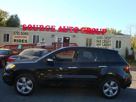 2009 Acura RDX for sale at Source Auto Group in Lanham MD