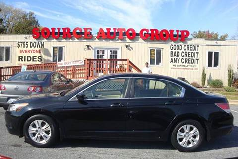 2009 Honda Accord for sale at Source Auto Group in Lanham MD