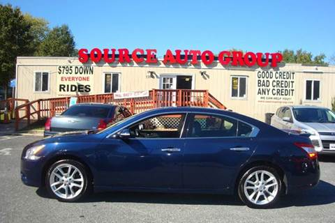 2011 Nissan Maxima for sale at Source Auto Group in Lanham MD