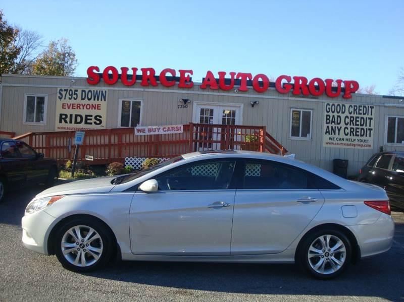 2011 Hyundai Sonata for sale at Source Auto Group in Lanham MD