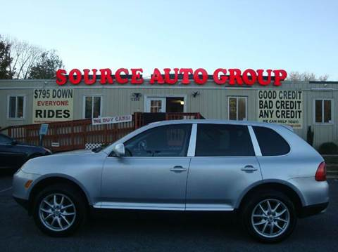 2004 Porsche Cayenne for sale at Source Auto Group in Lanham MD