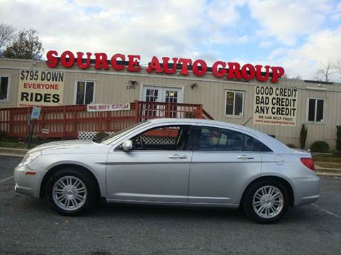 2009 Chrysler Sebring for sale at Source Auto Group in Lanham MD