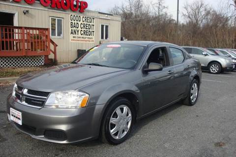 2012 Dodge Avenger for sale at Source Auto Group in Lanham MD