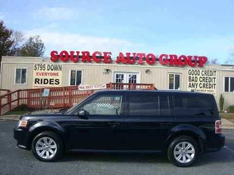 2010 Ford Flex for sale at Source Auto Group in Lanham MD