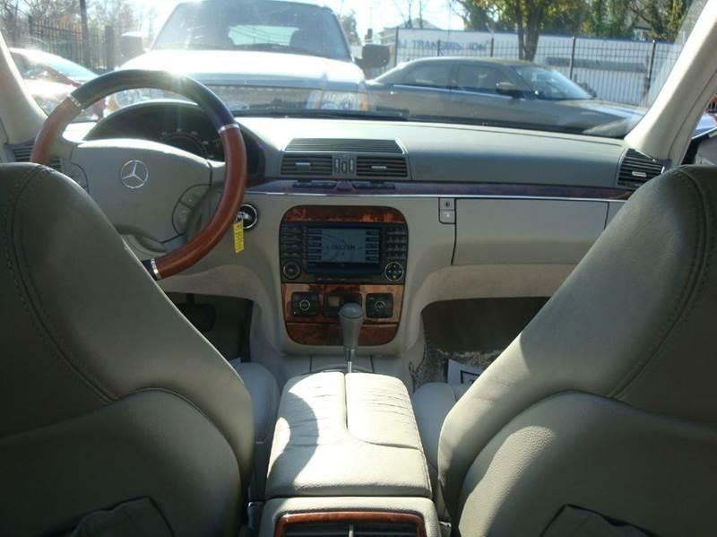 2004 Mercedes-Benz S-Class S500 4MATIC AWD 4dr Sedan In Lanham MD