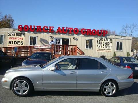 2004 Mercedes-Benz S-Class for sale at Source Auto Group in Lanham MD