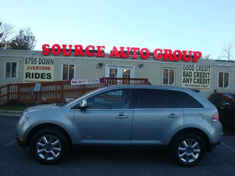 2007 Lincoln MKX for sale at Source Auto Group in Lanham MD
