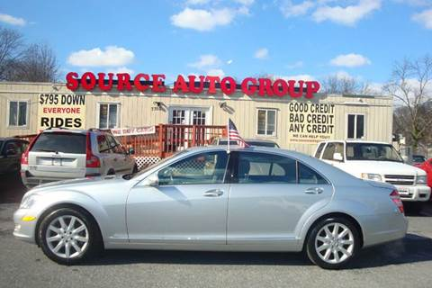 2007 Mercedes-Benz S-Class for sale at Source Auto Group in Lanham MD