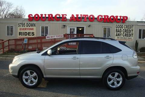2007 Lexus RX 350 for sale at Source Auto Group in Lanham MD