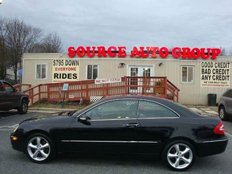 2004 Mercedes-Benz CLK for sale at Source Auto Group in Lanham MD