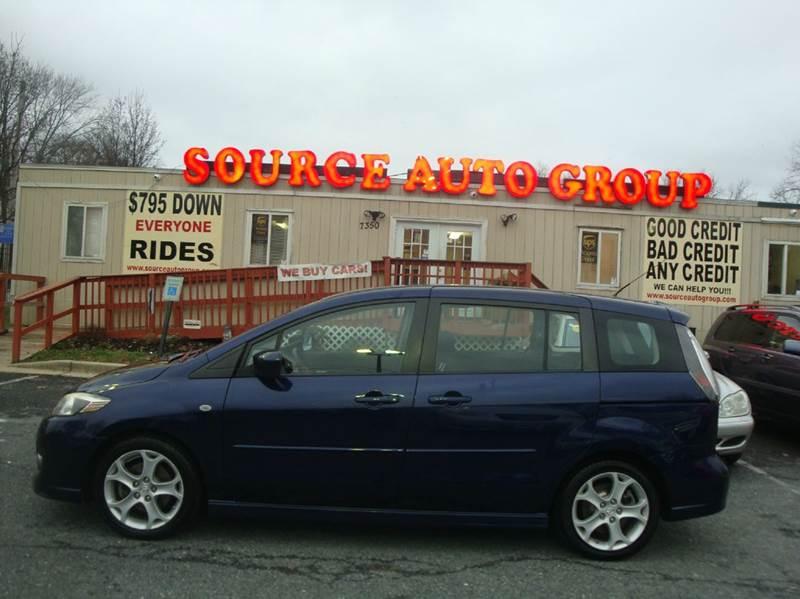 2008 Mazda MAZDA5 for sale at Source Auto Group in Lanham MD