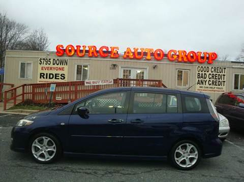 2008 Mazda MAZDA5 for sale at Source Auto Group in Lanham MD