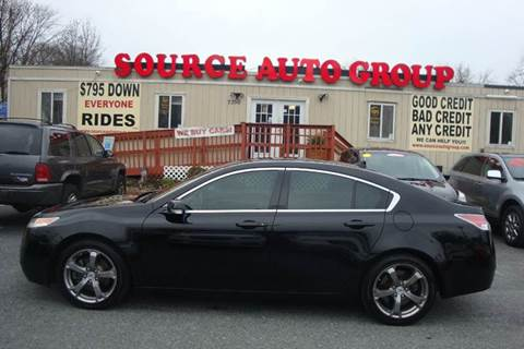 2010 Acura TL for sale at Source Auto Group in Lanham MD