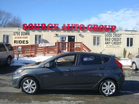 2013 Hyundai Accent for sale at Source Auto Group in Lanham MD