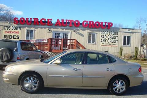 2005 Buick LaCrosse for sale at Source Auto Group in Lanham MD