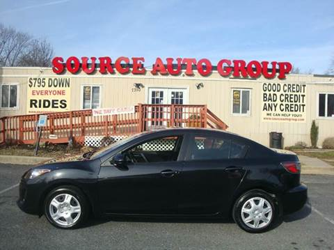 2013 Mazda MAZDA3 for sale at Source Auto Group in Lanham MD
