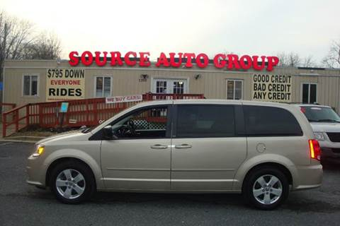 2013 Dodge Grand Caravan for sale at Source Auto Group in Lanham MD