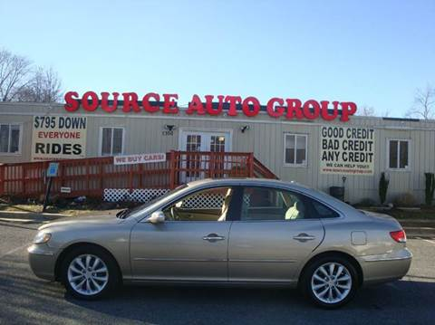 2008 Hyundai Azera for sale at Source Auto Group in Lanham MD