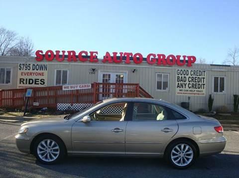 2008 Hyundai Azera for sale at Source Auto Group in Lanham MD