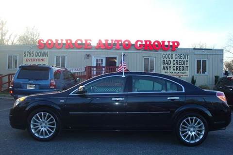 2008 Saturn Aura for sale at Source Auto Group in Lanham MD
