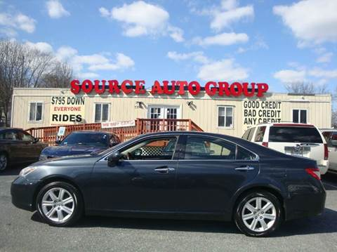 2009 Lexus ES 350 for sale at Source Auto Group in Lanham MD