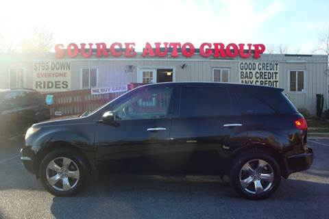 2007 Acura MDX for sale at Source Auto Group in Lanham MD