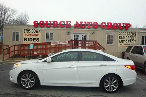 2011 Hyundai Sonata for sale at Source Auto Group in Lanham MD