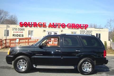 2005 Cadillac Escalade for sale at Source Auto Group in Lanham MD