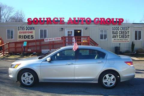 2010 Honda Accord for sale at Source Auto Group in Lanham MD