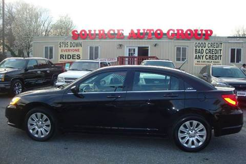 2014 Chrysler 200 for sale at Source Auto Group in Lanham MD