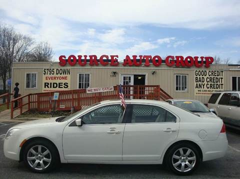2011 Mercury Milan for sale at Source Auto Group in Lanham MD