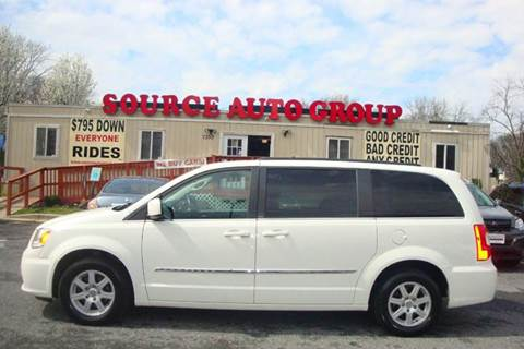 2012 Chrysler Town and Country for sale at Source Auto Group in Lanham MD