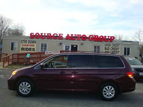 2010 Honda Odyssey for sale at Source Auto Group in Lanham MD
