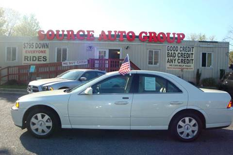2005 Lincoln LS for sale at Source Auto Group in Lanham MD