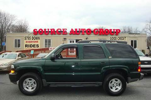 2004 Chevrolet Tahoe for sale at Source Auto Group in Lanham MD