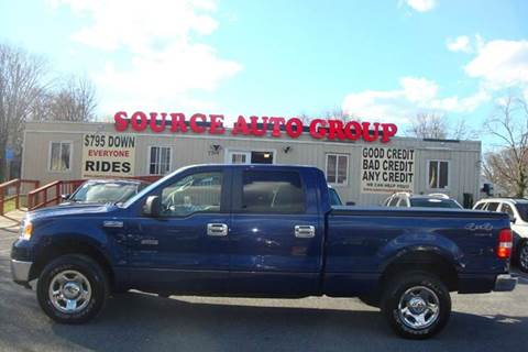 2008 Ford F-150 for sale at Source Auto Group in Lanham MD