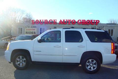 2008 GMC Yukon for sale at Source Auto Group in Lanham MD