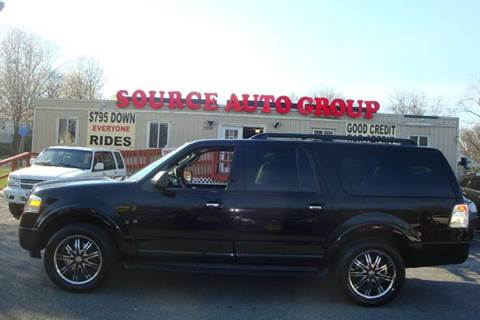 2009 Ford Expedition EL for sale at Source Auto Group in Lanham MD