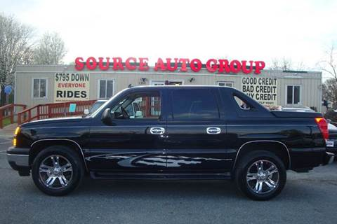 2006 Chevrolet Avalanche for sale at Source Auto Group in Lanham MD