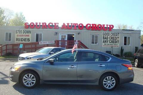 2014 Nissan Altima for sale at Source Auto Group in Lanham MD