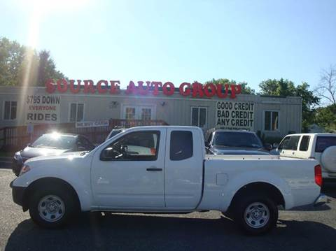 2012 Nissan Frontier for sale at Source Auto Group in Lanham MD