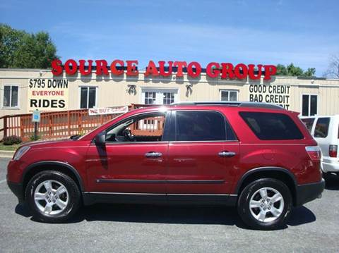 2009 GMC Acadia for sale at Source Auto Group in Lanham MD