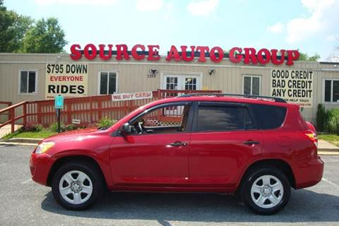 2010 Toyota RAV4 for sale at Source Auto Group in Lanham MD