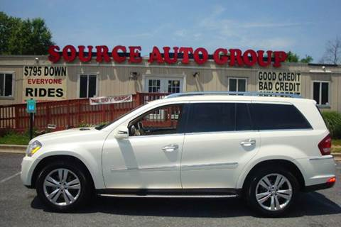 2011 Mercedes-Benz GL-Class for sale at Source Auto Group in Lanham MD