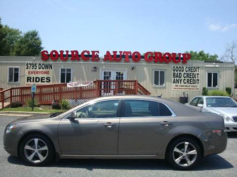 2011 Chevrolet Malibu for sale at Source Auto Group in Lanham MD