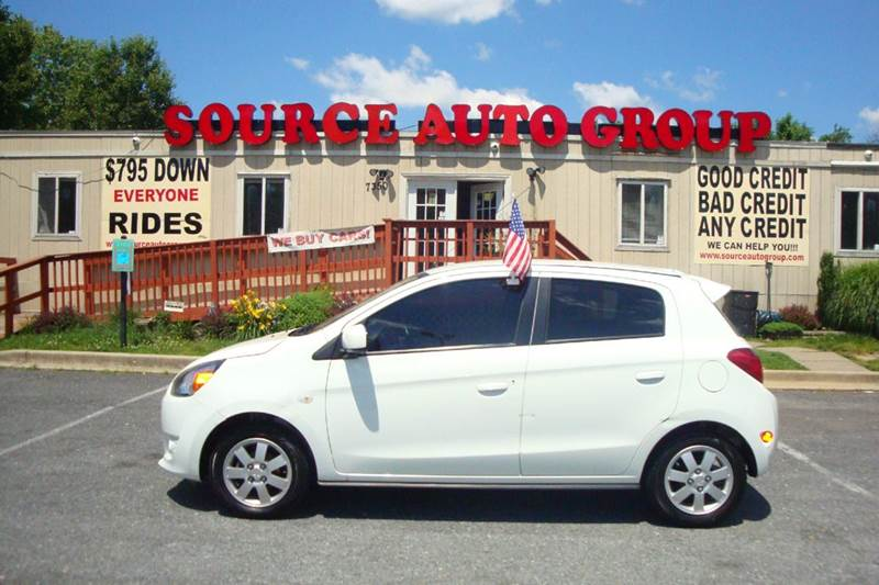2014 Mitsubishi Mirage for sale at Source Auto Group in Lanham MD